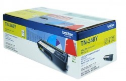 Brother - BROTHER TN-348Y ORJİNAL SARI TONER