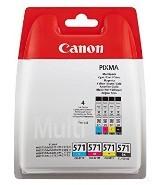 CANON - Canon CLI-571 C/M/Y/BK MULTI Blister - 0386C005AA