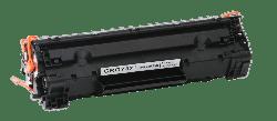 Canon - CANON CRG 737 Siyah Muadil Toner (1)