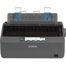 EPSON - EPSON LX-350 9 pin 80 colon 416 cps Printer