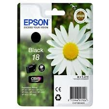EPSON - Epson T18014020 Siyah Kartuş