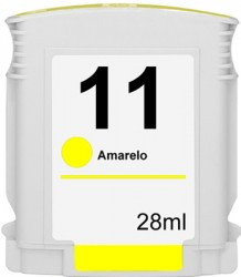 HP - Hp 11-C4838A Sarı Muadil Kartuş