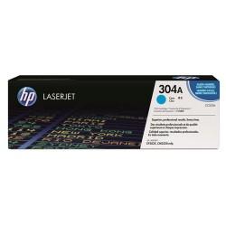 HP - HP 304A CC531A Mavi Orijinal Toner