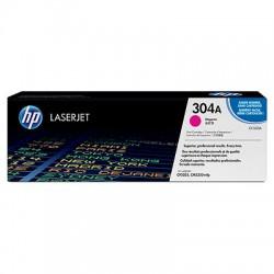 HP - HP 304A CC533A Kırmızı Orijinal Toner