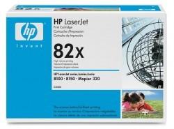 HP - HP C4182X (82X) ORJİNAL SİYAH TONER YÜK. KAP.