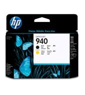 HP - HP C4900A Black/Yellow Baskı Kafası (940)