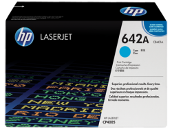 HP - HP CB401A (642A) ORJİNAL MAVİ TONER