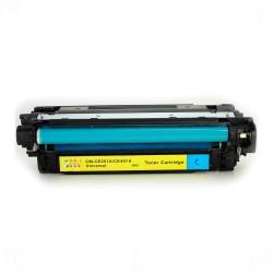 HP - HP CE251A (504A) Mavi Muadil Toner