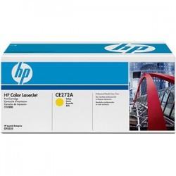 HP - HP CE272A (650A) ORJİNAL SARI TONER
