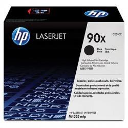 HP - HP CE390X (90X) ORJİNAL SİYAH TONER YÜK. KAP.