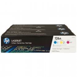 HP - HP CF341A (126A) ORJİNAL ÜÇ RENK (CMY) TONER