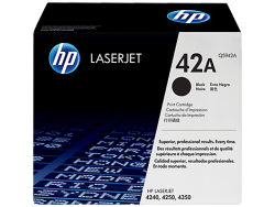 HP - HP Q5942A (42A) ORJİNAL SİYAH TONER