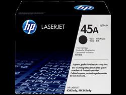 HP - HP Q5945A (45A) ORJİNAL SİYAH TONER