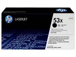 HP - HP Q7553X (53X) ORJİNAL SİYAH TONER