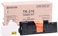 Kyocera - Kyocera Mita TK-310 Siyah Orjinal Toner FS-2000