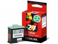 Lexmark - Lexmark 10NX227 CMY Mürekkep Kartuş (27)