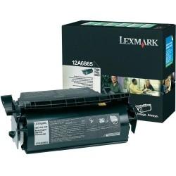 Lexmark - LEXMARK 12A6865 ORJİNAL SİYAH TONER