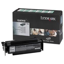 Lexmark - LEXMARK 12A7410 ORJİNAL SİYAH TONER