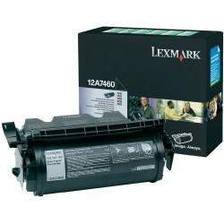 Lexmark - LEXMARK 12A7460 ORJİNAL SİYAH TONER