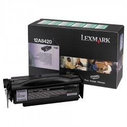 Lexmark - LEXMARK 12A8420 SİYAH ORJİNAL TONER