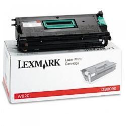 Lexmark - LEXMARK 12B0090 ORJİNAL SİYAH TONER