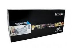 Lexmark - LEXMARK 15G042C ORJİNAL MAVİ TONER