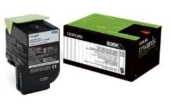 Lexmark - Lexmark CX310 (80C80K0) Siyah Return Toner 1000 Sayfa