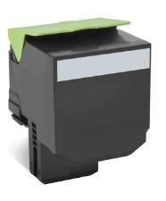 Lexmark - Lexmark CX510 (80C8XK0) Siyah Return Toner 8000 Sayfa