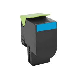Lexmark - LEXMARK C540 Mavi Muadil Toner