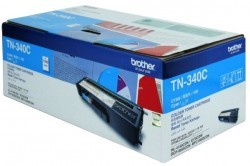 Brother - BROTHER TN-340 ORJİNAL MAVİ TONER