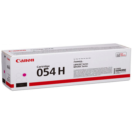 Canon CRG-054H Kırmızı Yüksek Kapasite Orijinal Toner