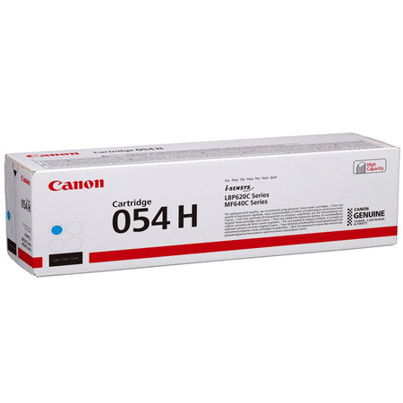 Canon CRG-054H Mavi Yüksek Kapasite Orijinal Toner