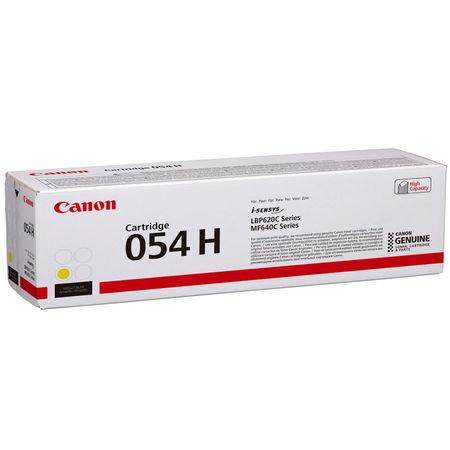 Canon CRG-054H Sarı Yüksek Kapasite Orijinal Toner