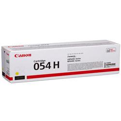 Canon - Canon CRG-054H Sarı Yüksek Kapasite Orijinal Toner