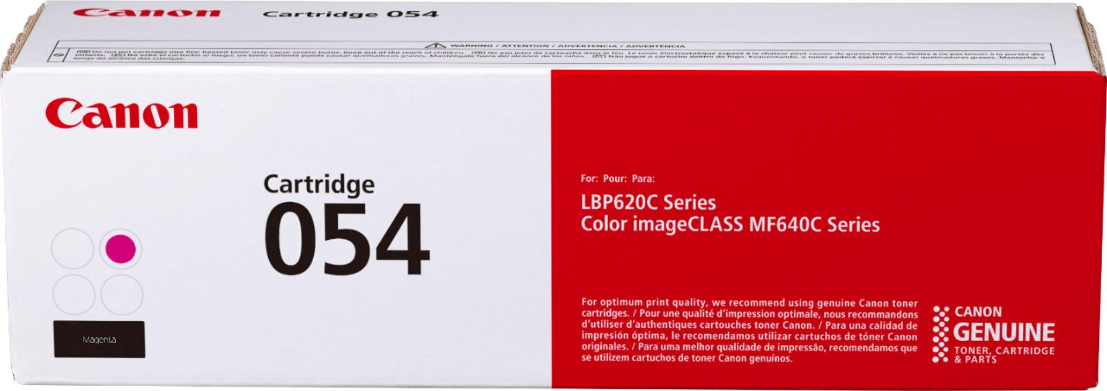 Canon CRG-054M Kırmızı Orijinal Toner