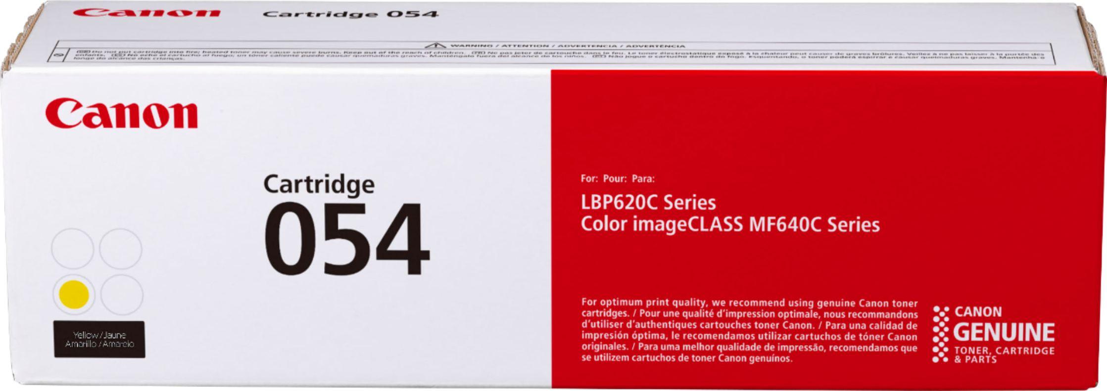 Canon CRG-054Y Sarı Orijinal Toner