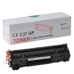 Canon - CANON CRG 737 Siyah Muadil Toner