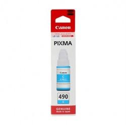 Canon - CANON GI-490C MAVİ MÜREKKEP KARTUŞ G1400-G2400-G3400-G4400
