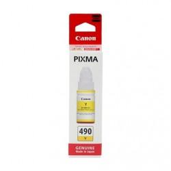 Canon - CANON GI-490Y SARI MÜREKKEP KARTUŞ G1400-G2400-G3400-G4400