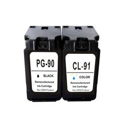 Canon - Canon PG-90 / CL-91 Siyah Renkli Orjinal Kartuş