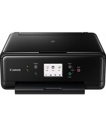Canon - Canon PIXMA TS6050 Black All-In-One Inkjet Printer