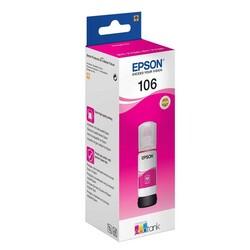 Epson - Epson 106-C13T00R340 Kırmızı Orijinal Mürekkep