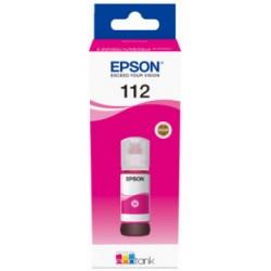 Epson - Epson 112 Orjinal Kırmızı Şişe Mürekkep 13T06C34A