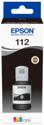 Epson - Epson 112 Orjinal Siyah Şişe Mürekkep C13T06C14A