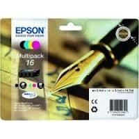 Epson - Epson 162640 B/C/M/Y Mürekkep Kartuş
