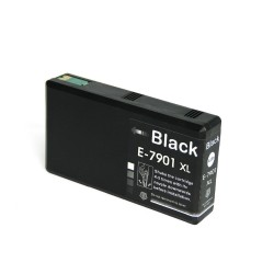 Epson - Epson 7901XL Siyah Muadil Kartuş