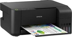 Epson - EPSON L3150 ECOTANK FOTOKOPİ,TARAYICI, WİFİ Özellikli MÜREKKEP TANKLI YAZICI
