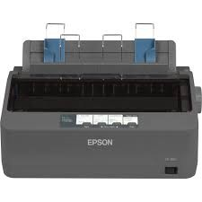 Epson - EPSON LX-350 9 pin 80 colon 416 cps Printer