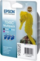Epson - Epson T048C40 Mürekkep Kartuş