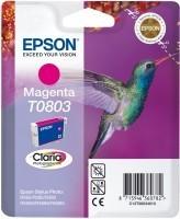 Epson - Epson T080340 Kırmızı Mürekkep Kartuş
